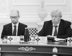 Арсений Яценюк пока выстоял, а генпрокурор Шокин, похоже, нет