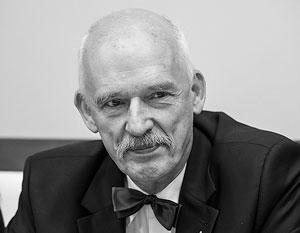 «Мне, честно говоря, наплевать на мнение польского правительства», - подчеркивает Януш Корвин-Микке