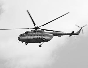 Вертолет Ми-8, перевозивший топ-менеджеров «ВТБ-лизинг», упал в Охотском море