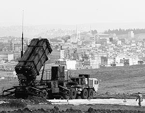 В 2012 году Турция запросила НАТО о предоставлении ракет для защиты от ударов с сирийской стороны