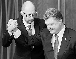 Теоретически главный партнер Порошенко – Яценюк, рейтинги партии которого близки к нулю
