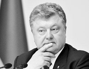 Порошенко подписал указ о защите собственности Украины в Крыму