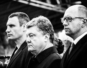 По мнению экспертов, соединение Виталия Кличко, Петра Порошенко и Арсения Яценюка в одной партии приблизит их коллективное фиаско
