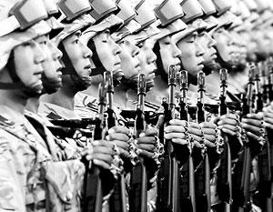 Китай сократит армию к 2017 году