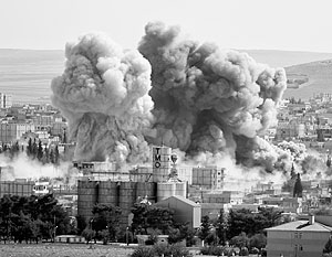 Авиаудары руководимой американцами коалиции играют на руку ИГ