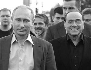 Путину и Берлускони мнение Киева не указ