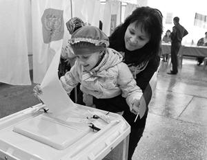 Единый день голосования показал, что избиратели доверяют курсу Владимира Путина