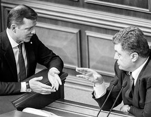 Ляшко считает, что арест Мосийчука вызван страхами Порошенко