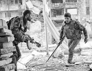 Позиционные бои в городской зоне останутся на плечах сирийской армии