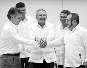 Главным посредником в переговорах выступил лидер Кубы Рауль Кастро