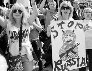Антироссийски настроенное меньшинство на Украине эксперты оценивают лишь в 20–25 процентов населения