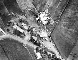Минобороны опубликовало кадры с авиаударами