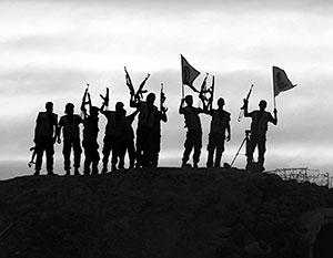 Вооруженные боевики призывают регион бороться против союза России и Ирана в Сирии