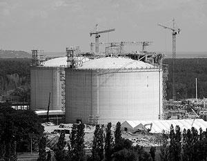 СПГ-терминал строился в Польше гораздо дольше намеченного срока