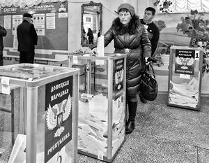 Выборы в Новороссии остаются одной из главных проблем во взаимоотношениях Киева и двух самопровозглашенных республик