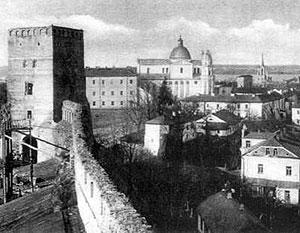 Так выглядел Луцк, когда он был польским городом