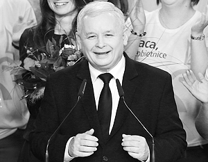 Лидер победившей партии ПиС, экс-премьер Качиньский - не из числа тех, кто симпатизирует Москве