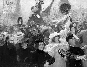 Илья Репин, «Манифестация. 17 октября 1905 года»