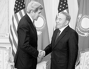 Встречаясь с Назарбаевым и другими среднеазиатскими лидерами, глава Госдепа намеревался укрепить влияние США в регионе, пошатнувшееся после частичного ухода из Афганистана