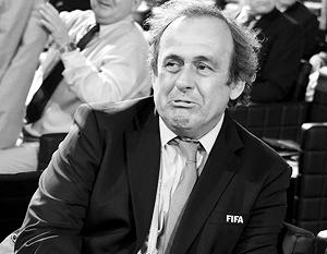 Мишель Платини считался фаворитом в борьбе за пост главы ФИФА и наиболее удобным кандидатом для России