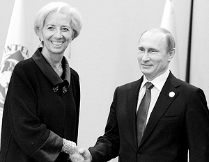Глава МВФ и российский президент обсудили украинский долг перед РФ