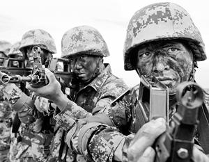 Китайская армия пока еще не имеет боевого опыта