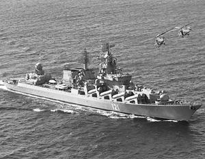 Крейсер «Москва» с ракетами «Форт», по сути, единственная серьезная система ПВО в районе применения российских бомбардировщиков в Сирии