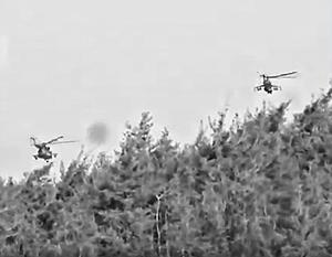 Поисково-спасательная группа ищет сбитого летчика