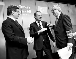 Европа обещает Турции отмену виз, если та остановит беженцев на дальних рубежах