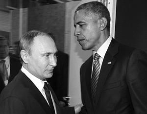 Американцев пытаются убедить, что Обамя «мягок» к Путину, потому что обязан ему