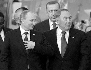 Нурсултан Назарбаев хочет попытаться примирить Владимира Путина и Реджепа Эрдогана