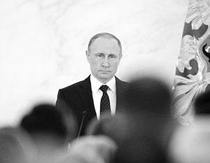 Путин посвятил проблеме терроризма четверть послания Федеральному собранию