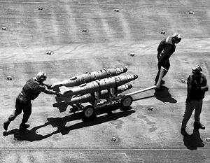 «Удар был нанесен в 55 километрах от этого района», – утверждают в Пентагоне