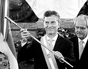 Сын итальянского эмигранта Маурисио Макри возглавил одну из крупнейших стран мира