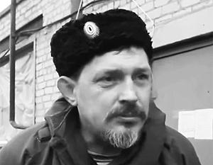 Казачий атаман Дремов, известный по позывному Батя, стоял у истоков сопротивления на Луганщине