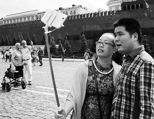 По количеству туристов, посетивших РФ, на первое место впервые попал Китай