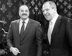 Прибывший на переговоры в Москву глава МИД Катара аль-Атыйя угрожал Башару Асаду войной