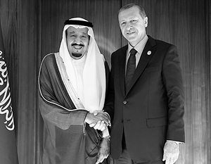 Турция и Саудовская Аравия дружат против России