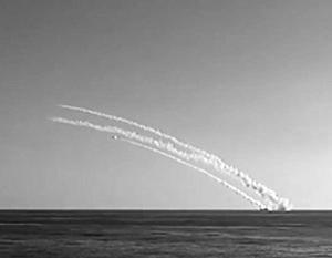 В начале октября четыре корабля Каспийской флотилии нанесли «Калибрами» 26 ударов по 11 целям в Сирии