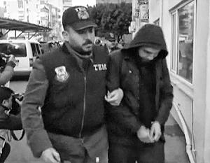 Личности задержанных в Анталье россиян пока до конца не установлены