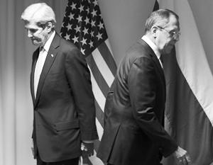 Переговоры Лаврова и Керри не принесли никаких успехов