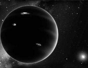 Именно так, по предположению ученых, выглядит девятая планета