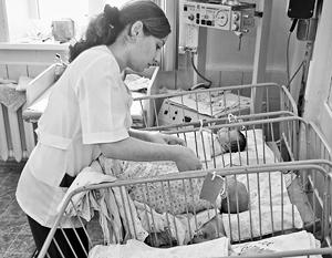 Рождаемость в России за последние восемь лет немного поднялась
