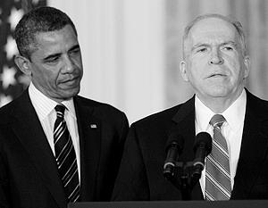 Президент США Барак Обама и директор ЦРУ Джон Бреннан