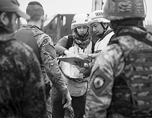 Миссия ОБСЕ кровно заинтересована в том, чтобы выяснить, почему Киев вывел своих военных из Совместного центра по координации и контролю прекращения огня