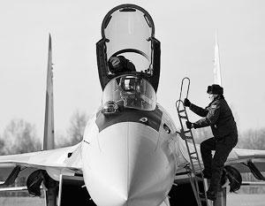 Су-35С является самым маневренным боевым самолетом