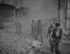 От обстрелов со стороны Турции пострадали сирийские мирные жители