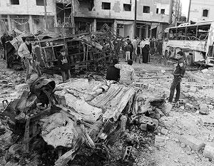 Теракт в Дамаске стал ответом на наступление правительственных войск на анклавы джихадистов