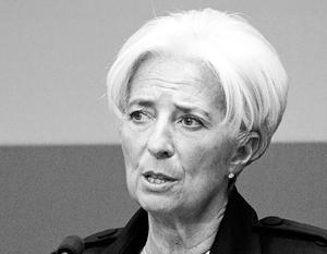 Глава МВФ Кристин Лагард «обеспокоена медленным прогрессом», который демонстрирует Украина в борьбе с коррупцией