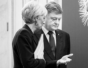 МВФ и Петр Порошенко якобы договорились о кредите и замене главы Нацбанка Украины